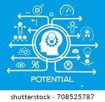 potential design concept.... | Shutterstock .eps vector #708525787