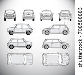 automobile.template for graphic ... | Shutterstock .eps vector #708588883