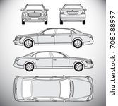 automobile.template for graphic ... | Shutterstock .eps vector #708588997
