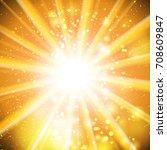 gold bokeh abstract light...