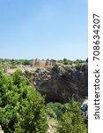 kanlidivane ancient city.... | Shutterstock . vector #708634207