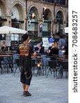 porto  portugal   april 16 ... | Shutterstock . vector #708683257