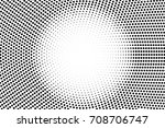 black and white dotted vector... | Shutterstock .eps vector #708706747