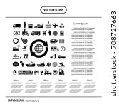 vector logistics export icon... | Shutterstock .eps vector #708727663