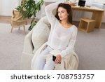 holiday morning  beautiful...   Shutterstock . vector #708753757