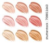 vector illustration of color... | Shutterstock .eps vector #708811663