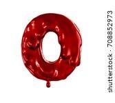 zero organic figures. red... | Shutterstock . vector #708852973