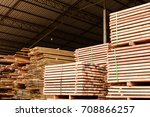 Small photo of Wood factory stock and lumber board with nature business export