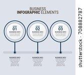 modern infographic timeline... | Shutterstock .eps vector #708882787