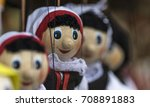 traditional dolls close up | Shutterstock . vector #708891883