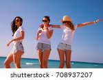 group of friends together... | Shutterstock . vector #708937207