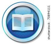 e book icon | Shutterstock . vector #70894111