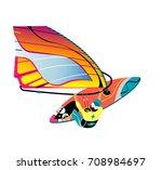 water active recreation....   Shutterstock .eps vector #708984697