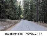 scenic paved road leading to...   Shutterstock . vector #709012477