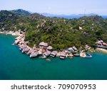 ngoc suong resort in cam ranh ... | Shutterstock . vector #709070953