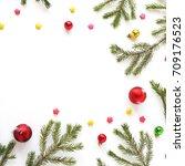 Christmas Background. Fir...