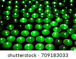 green energy. save the planet.... | Shutterstock . vector #709183033