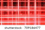 sparkling graphic particles. 3d ... | Shutterstock . vector #709186477