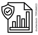 data control vector icon | Shutterstock .eps vector #709186813