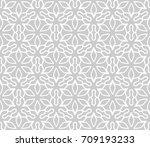 seamless geometric line pattern ...   Shutterstock .eps vector #709193233