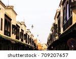 medina of fez  morocco | Shutterstock . vector #709207657