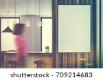 close up of a white kitchen... | Shutterstock . vector #709214683