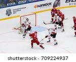 podolsk  russia   september 3 ... | Shutterstock . vector #709224937
