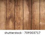 brown old wood texture... | Shutterstock . vector #709303717