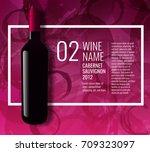 design idea for presentation of ... | Shutterstock .eps vector #709323097