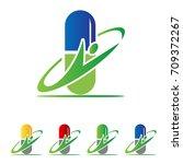 capsule medicine logo