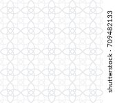 seamless geometric pattern with ... | Shutterstock .eps vector #709482133