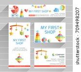 vector ready design template... | Shutterstock .eps vector #709498207