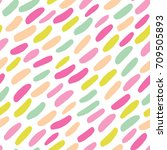 cute seamless pattern with... | Shutterstock .eps vector #709505893
