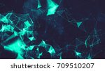 abstract digital background... | Shutterstock . vector #709510207
