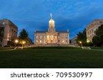 iowa city  iowa   august 13 ... | Shutterstock . vector #709530997