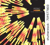 neon abstract background | Shutterstock .eps vector #709577803
