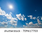 sky clouds sky with clouds and... | Shutterstock . vector #709617703