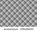 quilted background  seamless... | Shutterstock .eps vector #709638433