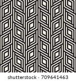 vector seamless pattern. modern ... | Shutterstock .eps vector #709641463