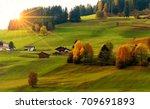 beautiful autumn scenery with...