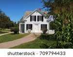 shelburne  vt  usa   august 27  ... | Shutterstock . vector #709794433