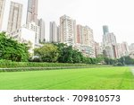 racecourse in hong kong | Shutterstock . vector #709810573