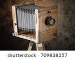 old camera   Shutterstock . vector #709838257
