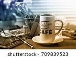 business accounting    Shutterstock . vector #709839523