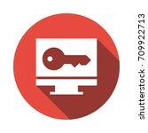 online key    Shutterstock .eps vector #709922713