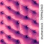 pink leather texture   retro... | Shutterstock . vector #709962463
