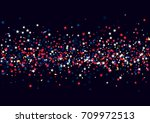 abstract background with flying ... | Shutterstock .eps vector #709972513