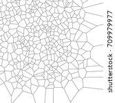 geometric black and white... | Shutterstock .eps vector #709979977