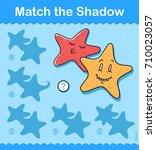 match the shadow kids... | Shutterstock .eps vector #710023057