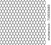 seamless wired netting fence.... | Shutterstock .eps vector #710033683